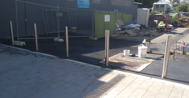 Stainless Steel Bollards for Pedestrian Safety